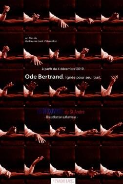 Ode Bertrand, lignée pour seul trait (2019)